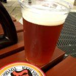 実行委員会で復刻した多摩地域最古のビール「TOYODA BEER」が美味しい。