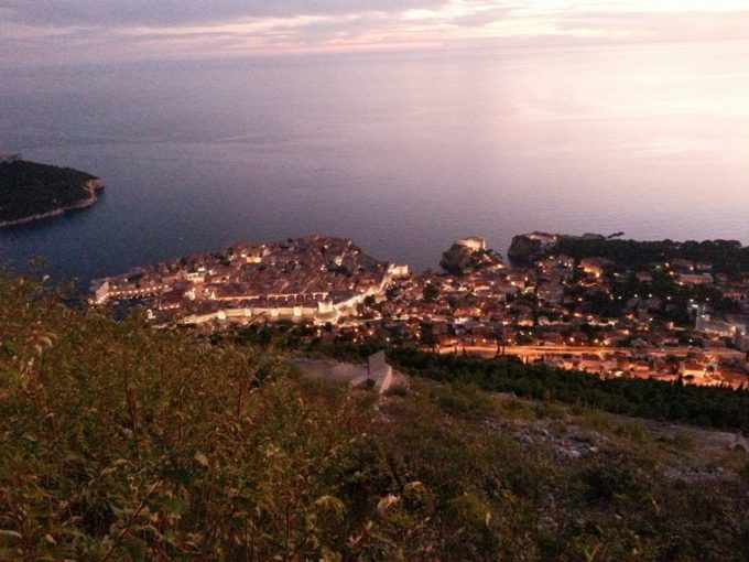 dubrovniknightview